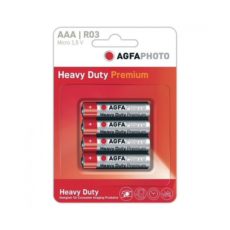 Pilas AGFA AAA (4 uds)