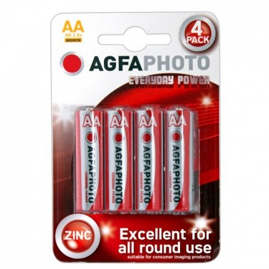 Pilas AGFA AA (4 uds)