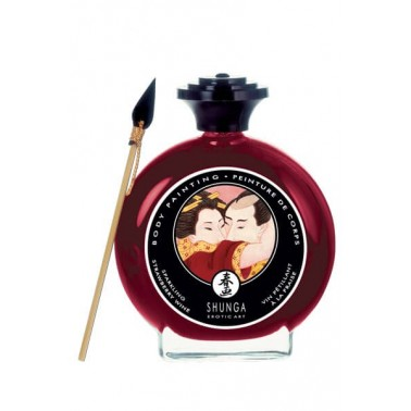Vino de Fresa Body Paint Shunga 100ml