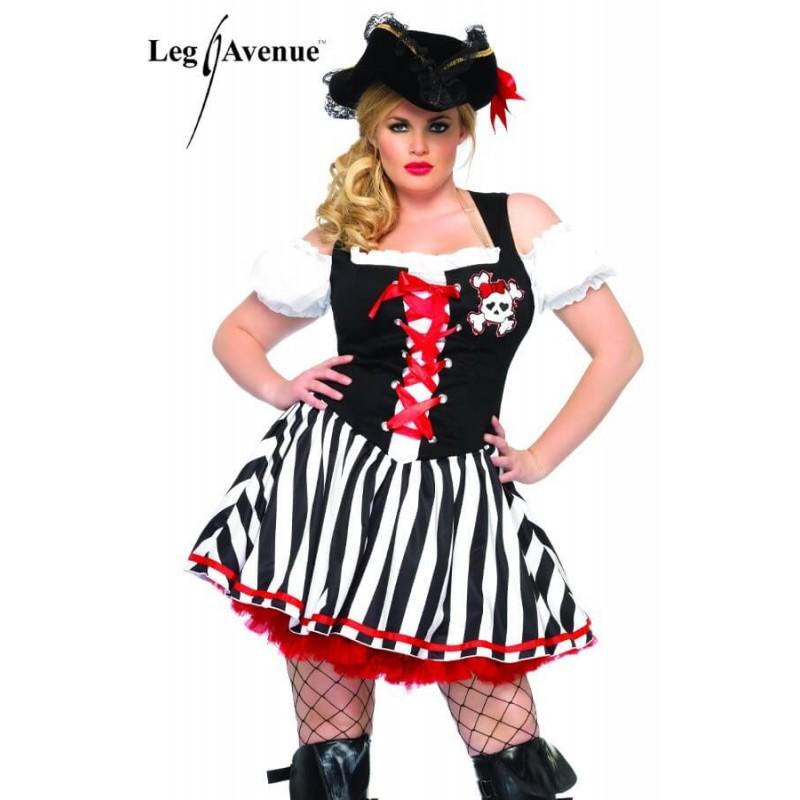 Disfraz Sexy Pirata Queen Size