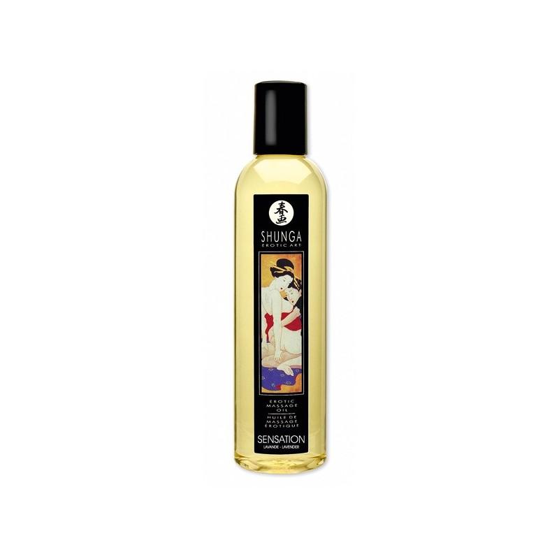 Aceite Sensation / Lavanda Shunga 250ml