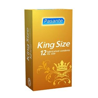 King Size 60mm 12 ud - Preservativos
