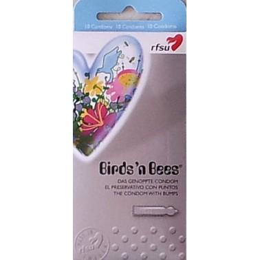RFSU Birds and Bees - Texturizado 10 ud