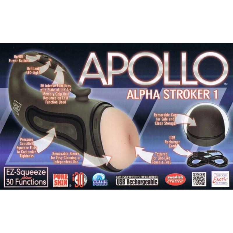 Alpha Stroker 1 - Masturbador 30 modos Recargable