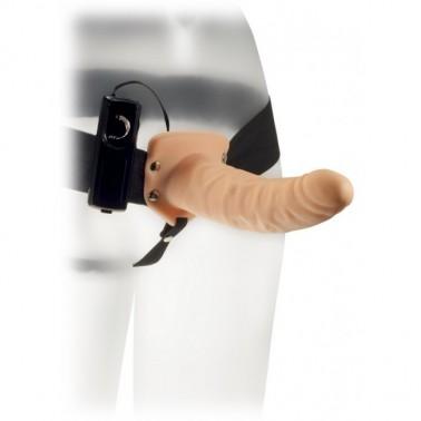 Arnes Hollow Extender Plus 20cm con Vibración - Hueco para Hombre