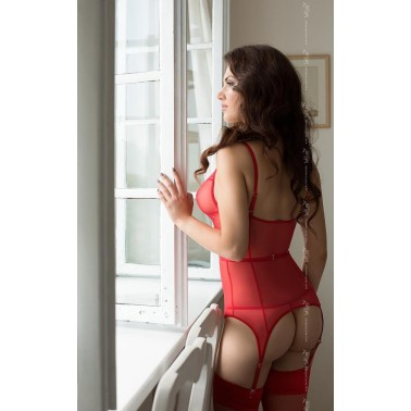Corsé Diora Rojo