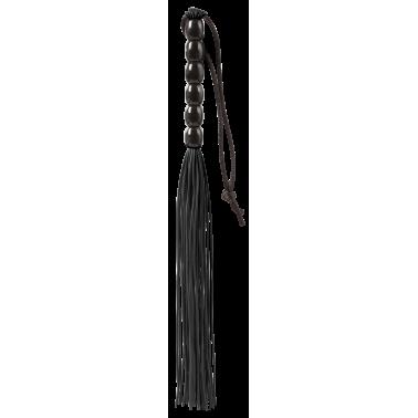 Mini Látigo Negro de gomas 21 cm