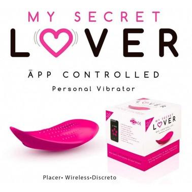 My Secret Lover Tanga Vibrador Recargable con APP para smartphone