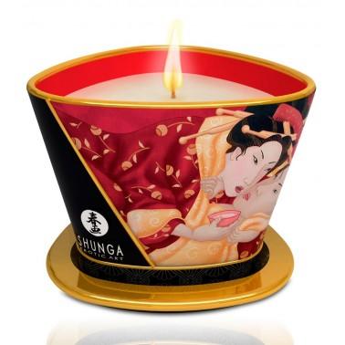 Vela Masaje Romance / Champán y Fresa Shunga