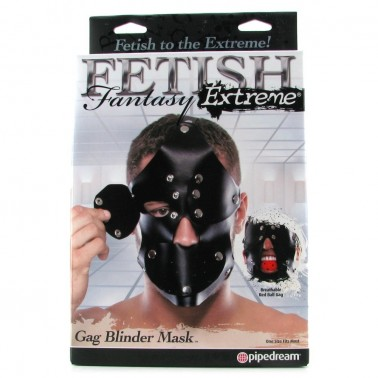 Máscara Fetish Extreme Gag Blinder