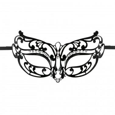 Máscara Metal Negra Abierta ET113