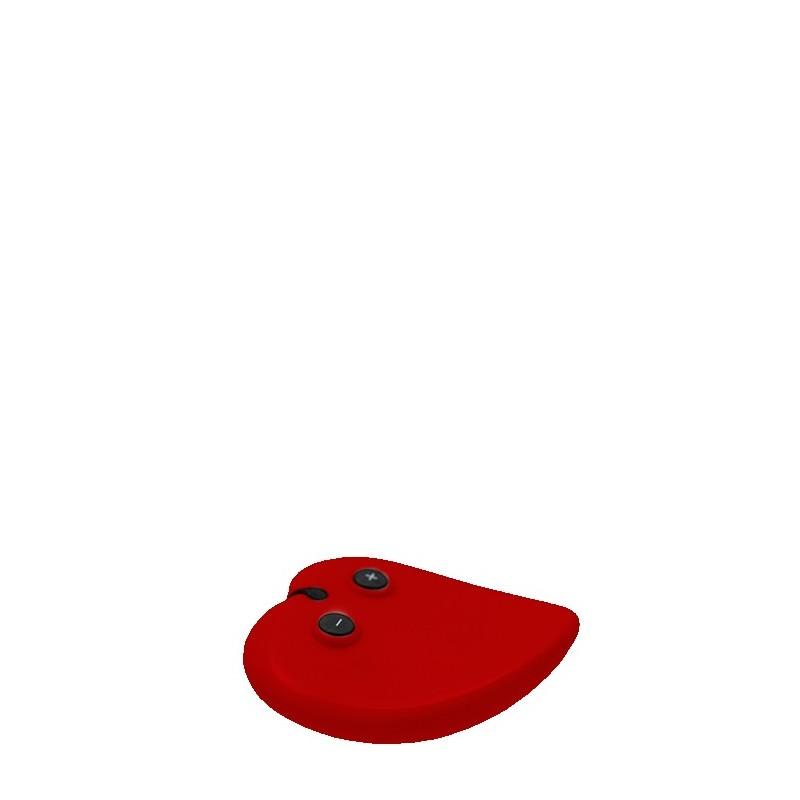 Masajeador Recargable Vibrador Lover´s Choice Rojo