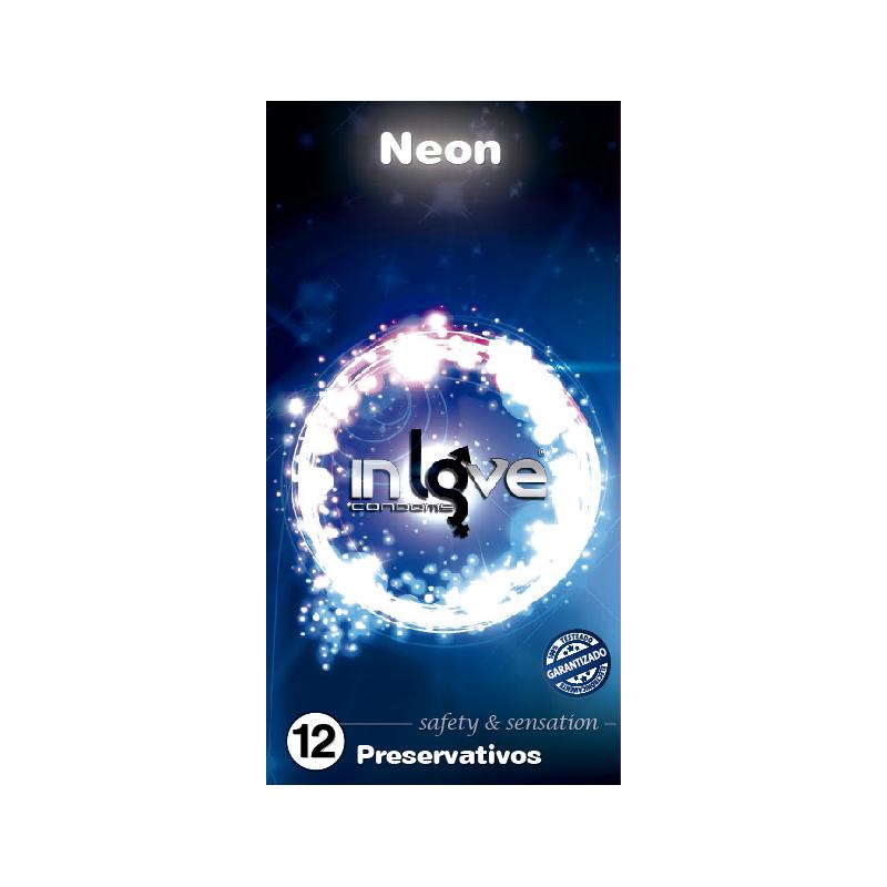 Preservativo Neon InLove 12 ud
