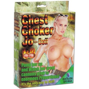 Chest Chooker Jo-Doll. Pechos grandes