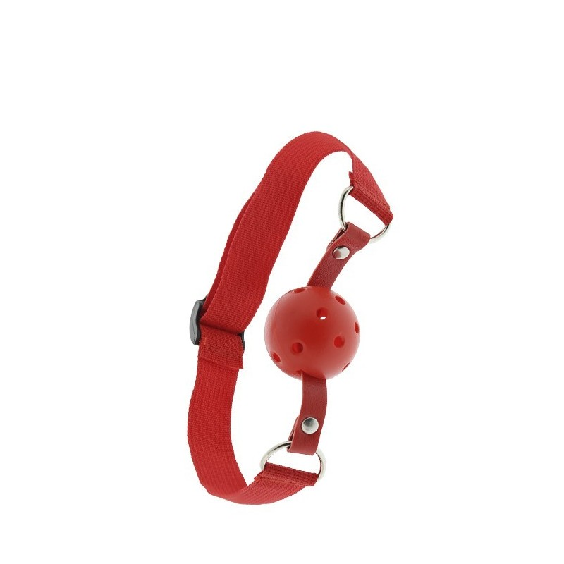 BLAZE BALL GAG PERFORADO ROJO